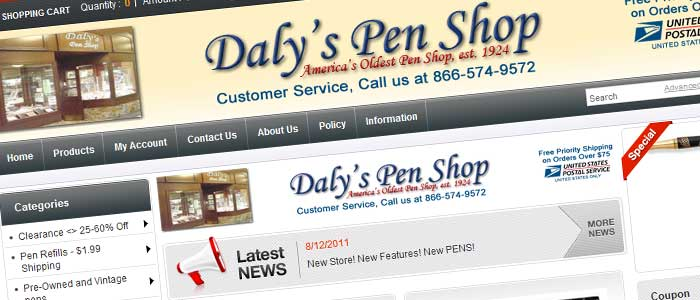 Daly''s Pen Shop