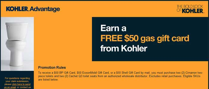 Kohler Advantage Promotional Program