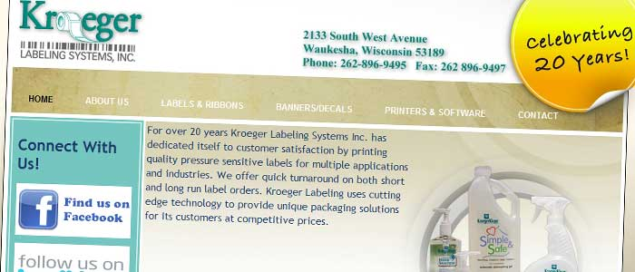 Kroeger Labeling Systems